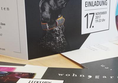 Klapp-Flyer – Kooperation Wohngarten